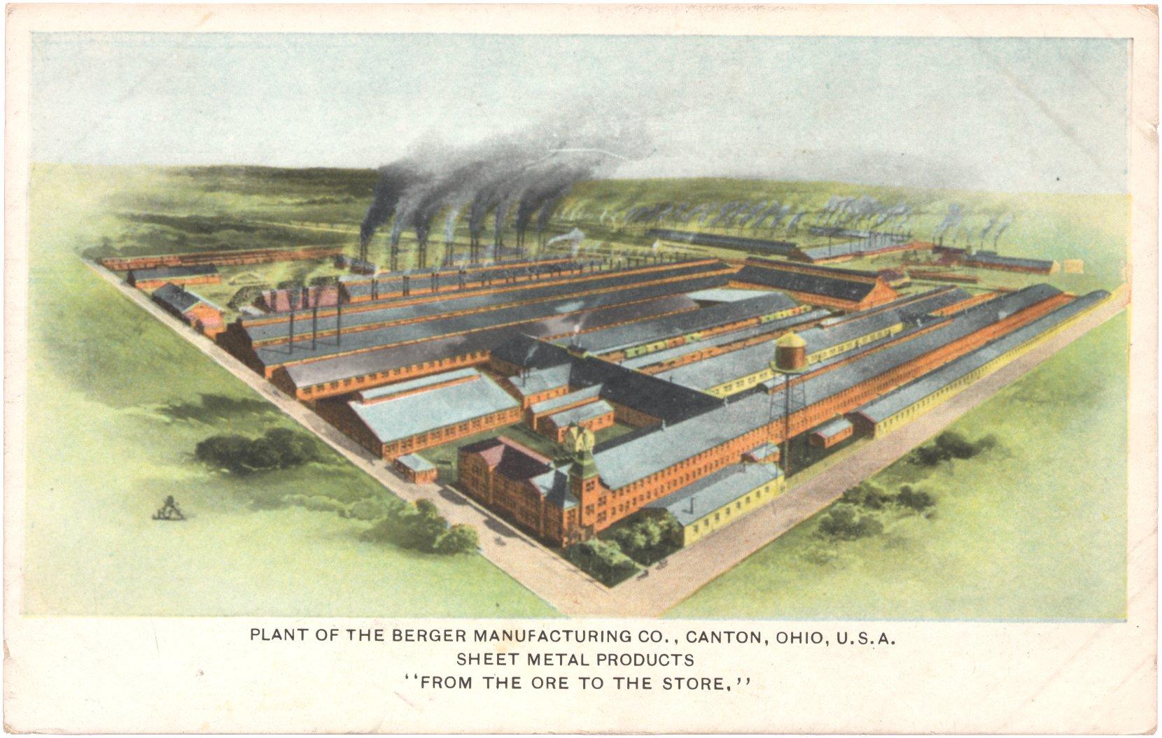 Berger Manufacturing Company Glassian